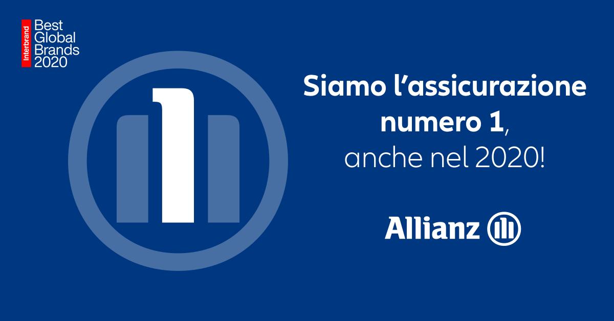 Allianz primo brand assicurativo al mondo